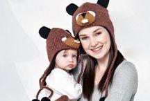Czapki dla Małych i Dużych / Najzabawniejsze czapki, czapkoszale i rękawiczki w sam raz na jesienne chłody. Zobacz inne propozycje na www.babyssecret.p