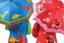 Parasole i płaszcze dla dzieci / Na deszcz - parasole, parasolki, palta, poncza