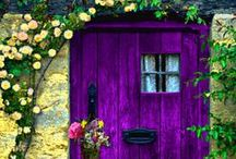 Purple / Just because I love this colour.