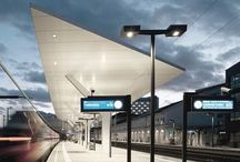 TRANSPORT ARCHITECTURE / Great transport projects - especially subway, tram, train or bus stations