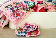 Crochet Blankets / Making them takes patience, but the reward is well worth the wait. Use these ideas to make a blanket for yourself, or gift one to your famjam & friends.