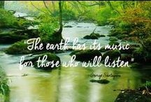 Nature Nurture / Mother Nature is Nurturing........look, listen and feel!