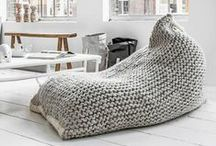 Crochet Rugs and Poufs