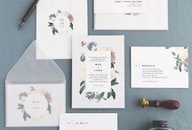 Hochzeitspapeterie ♥ / Save the date, Einladungen, Etiketten alles was das Herz begehrt