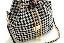handmade bags / kabelky háčkované, štrikované, šité