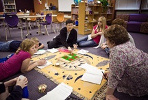 NElovesPS: Montessori for Middle School / Every child is different. Each student learns their own way, and at their own pace. In one middle school that uses the Montessori Method, teachers provide various opportunities for learning, from independent reading time, to group work projects.