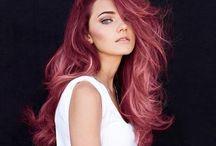 Hair  / Hair styles & colours
