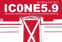 Icone 5.9 / A board dedicated to the artists who will be attending to ICONE 5.9 - Modena 2013