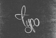 T Y P O / by Faustine Aper-Nitche