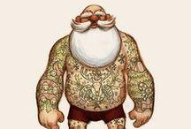 HAIRY CHRISTMAS! / Winter warming beards, festive furry frolicks and the like....