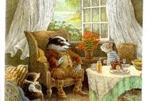 """""""The Wind in the Willows"""" illustrated by Inga Moore / My favourite book and beautiful illustrations!"""