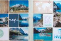 Scrapbook Project Life Spreads and Ideas / Project Life pocket scrapbooking layout love, idea lists for journaling and photos to include