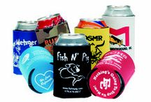 Can and Bottle Coolers / Screen Printed Can coolers and Bottle Coolers.