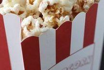 Smells like popcorn! (movie time)