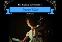 The Regency Adventures of Jemima Sudbury / Pins related to middle-grade fiction series THE REGENCY ADVENTURES OF JEMIMA SUDBURY.