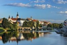 Czechia / Czechia is a landlocked country in Central Europe, consisting of three historical lands, Bohemia (Čechy), Moravia (Morava) and Czech Silesia (Slezsko). The country is bordered by Germany to the west and northwest, Poland to the northeast, Slovakia to the east and Austria to the south.