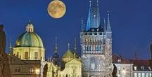 """Prague - capital of Czechia / Prague, (Praha in Czech, Praga in Latin), capital of Czechia, sometimes called """"Golden Prague"""", """"Mother of cities"""",  formerly """"Head of Kingdom"""" (Praga caput regni) and familiarly by Czechs """"Hundred Spires Mom"""", has been the centre of the Czech state for more than 1100 years. Prague is situated on both banks of the Vltava River in Central Bohemia. The origin of the name """"Praha"""" is usually derived from Slavic common name """"práh"""" (means here tides or rocks in the Vltava river)."""