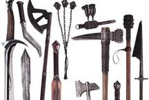 Arms & Armour / Weapons and armour for stories to come. So not everyone will wield a basic sword.