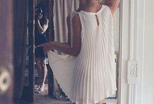 Cl@u || White dress / All white dresses