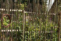 Flechtzaun / Tolle Ideen für Zäune und Sichtschutz aus Weiden-und Haselnußruten