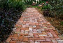 Gartenwege / Gartenwege, tolle Ideen aus verschiedenen Materialien