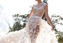 Wedding dresses / If I wish I could wear different wedding dresses my every anniversary