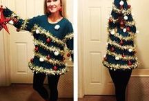 Ugly Holiday Sweaters / Everything you need from ideas to materials to make your very own ugly holiday sweater. Need a sweater fast? Stop by your local Goodwill for a wide selection of pre-made sweaters, vests, and more!