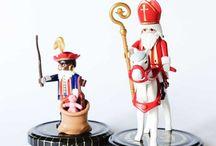 Cl@u || DIY Sinterklaas / Sinterklaas en Zwarte Piet