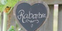 gArden  / rHubarb