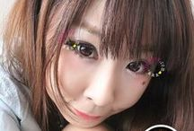 I.Fairy Kitten Tears **New Release 2013** / I.Fairy Kitten Tears   Size :16.2 mm Water content:55% Base Curve:8.6 1 year disposable Power Range :   -0.00  -1.00~ -5.00 =-0.25 step -5.00-8.50 =-0.50 Step  Purchase at http://store.ifairycon.com  #ulzzang #cute #bigeye #circlelens #contactlens #colorlens #kawai #korea #ifairy #ifairycon #ifairylens