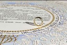 Olive Ketubah / The Olive ketubah, filled with movement, light and the poetry of the Bible brims with energy and delight and celebrates the joy of the newly-wed couple as they begin their journey building a home and life together...you can view the ketubah here-http://www.ketubahazoulayart.com/index/