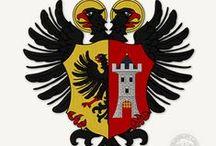Erby a znaky / Ukázky vlastní heraldické tvorby a kresby