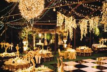 Lights All Over / Beautiful lights for wedding decorations