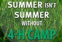 4-H Summer Camp / Fun, 4-H, Family.