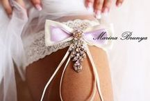 wedding garters / брошь-букеты, подвязки, подушечки для колец, пояса на свадебные платья и другие аксессуары. Любая Ваша идея, задумка - все возможно.  http://vk.com/mbrunya