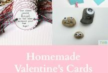 Valentine's Day Crafts | Activites | Recipes / Celebrate Valentine's day by making your own cards. Have more fun with Valentine's Day crafts, DIY's, activities and recipes.