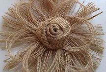 ❀ Crafts ❀  Fabric Flowers / Floral embellishments from ribbon and fabric