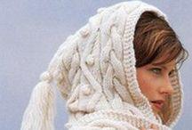 *Knitting*  HOODIES / Modern classic traditional way
