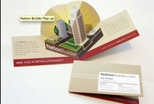 Business card designs that we love... / First impressions matter. To the outside world your business card is an extension of your business. It needs to endorse your products and services.
