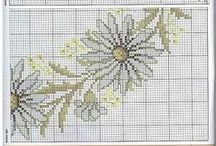 ⨳ Embroidery ⨳ CROSS STITCH / counted-thread embroidery
