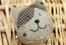 Pincushions / Useful little things prettily made