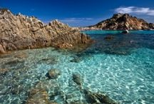Sardinia, Italy / Sardinia has always been a popular escape spot - not only for its beautiful beaches, but also due to its remote nature and land: the waters rival the Caribbean! But it's not just a beach paradise, it's a rugged landscape perfect for cycling through.  Learn more about our self-guided trips here: http://www.discoverfrance.com/trip.php?id=64&country=3