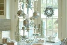 ❆Christmas❆ DECOR / Christmas Lights, Tablescapes, Wreaths and Trees