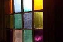 Stained glass   / by Donna Sherman