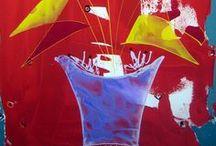 Telas / Artista Plástica catalogada no Catálogo de Artes Julio Louzada e no Catálogo Internacional Le Sermadirás, com exposições no Soho NY, Washington, Frankfurt, Berlim, Paris, Brasil.....