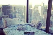 bed and the city