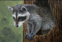Wildlife Artist Crista Forest / Original Oil Paintings