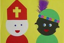 Sinterklaas / knutselpagina