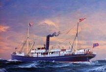 Art Gallery of Marine Paintings