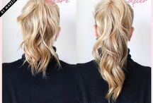 Tuto hairstyles / Astuces et tuto coiffures